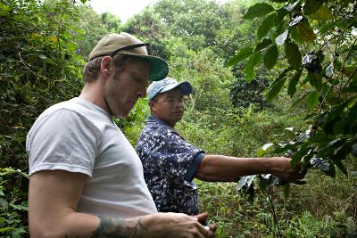 Jared in El Salvador