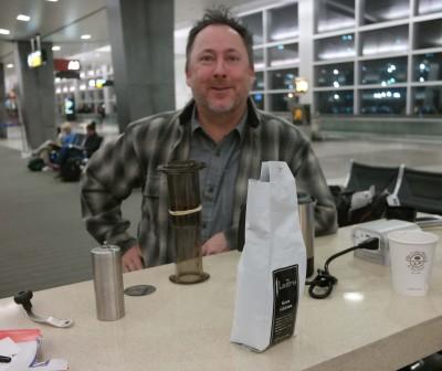 Airport AeroPress