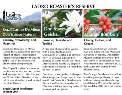 Ladro Roaster's Reserve